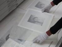 Umlagerung von bereits entwickelten Fotografien