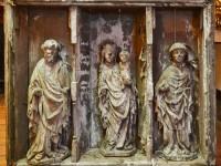 Altarschrein, um 1420, Heimatmuseum Dahme, Gesamtansicht, Fotos: Haus der Brandenburgisch-Preußischen Geschichte