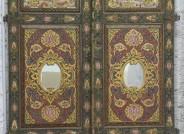 Wandschranktür nach der Restaurierung