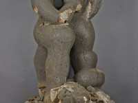 "Jacques Lipchitz, Modell ""Benediction"", 1943–45, Plastilin, Holz, Metall, 262 x 146 x 123 cm, Kunstsammlungen Chemnitz, Gift of the Jacques and Yulla Lipchitz Foundation, Inc. © 2017 The estate of Jacques Lipchitz, courtesy, Marlborough Gallery, New York"