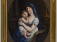 Marie Prinzessin von Baden Herzogin von Braunschweig-Oels mit Kind, Marienstift Braunschweig, Foto: Peter Sierigk