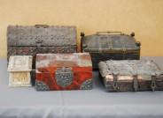 Restaurierungsbedürftige spätmittelalterliche Kästchen, alle Fotos: Suermondt-Ludwig Museum