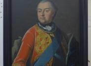 Portrait Herzog Ernst Friedrichs II. von Sachsen-Hildburghausen nach der Restaurierung, Foto: Lindenau Museum Altenburg