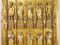 Goldene Tafel, rechter Flügel, um 1400, alle Fotos: Landesmuseum Hannover