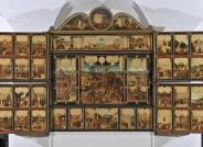 Gothaer Tafelaltar (Gesamtansicht, vierte Öffnung, vor der Restaurierung), Heinrich Füllmaurer und Umkreis, um 1640 © Stiftung Schloss Friedenstein Gotha, Lutz Ebhardt