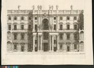 Berliner Stadtschloss (aus einer Serie), 1703 Kupferstecher: Paul Decker, 1677 - 1713 Architekt: Andreas Schlüter, 1660 – 1714 Papier, Kupferstich.