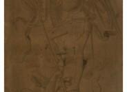 Moritz von Schwind, Erzengel Michael, vor 1848, Kohle auf Karton, 170 x 115 cm Foto: Kulturhistorisches Museum Magdeburg/ Hans-Wulf Kunze