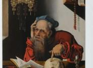 """""""Hieronymus im Gehäuse"""" aus der Schule des Joos van Cleve (1485-1541), alle Fotos: Annegret Gossens"""