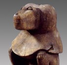 Statue des Gottes Thot, Roemer- und Pelizaeus-Museum, PM 4569 Foto: Sh. Shalchi