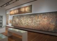 Ausstellung der restaurierten Felsbilderkopien im Berliner Martin Gropiusbau
