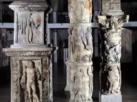 Fragmente der Großen Mainzer Jupitersäule aus der Zeit Kaiser Neros (+ 68 n.Chr.), Foto: Landesmuseum Mainz