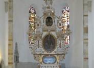 Hochaltar des Merseburger Doms im gereinigten Zustand
