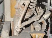 Hochaltar des Merseburger Doms vor der Reinigung, Detail, Fotos: Vereinigte Domstifter zu Merseburg, Naumburg und des Kollegiatsstifts Zeitz