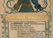Plakat der Souveränen-Kunstfischer-Republik, Hiddensee 1924 © Gerhart-Hauptmann-Stiftung, Hiddensee