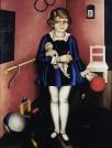 Issai Kulvianski, Mein Töchterchen Kiki, 1927, Berlinische Galerie, © Nachlass Kulvianski