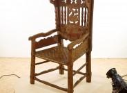 Bäuerlicher Armlehnstuhl, 1792 datiert , Foto. Gerald Freyer
