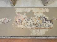 Ritterschlacht in der Aufhängung im deutschen Burgenmuseum (nach Restaurierung), Foto: Christoph Merzenich