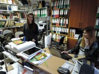 Digitalisierung von Buchumschlägen, Foto: Universität Leipzig