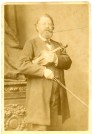 Joseph Joachim, Fotografie im Kabinettformat, London 1885