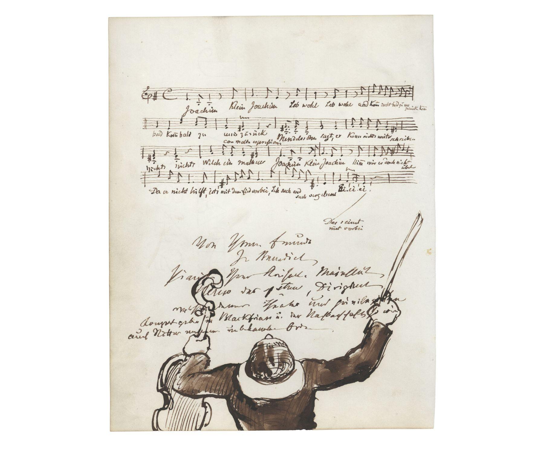 Briefe Von Und An Joseph Joachim : Teilnachlass von joseph joachim kunst auf lager