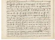 Joseph Joachim, Fragment eines Streichquartetts, o. O., o. D., 14 Blätter, 16 Seiten