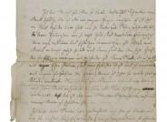Joseph Joachim, Brief an Heinrich Joachim in London, Leipzig, 19. November 1847, 1 Doppelblatt, 3 Seiten