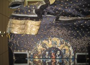 Detail der Jacke der Generalsunform nach der Restaurierung  Foto: RPM