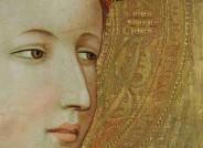 ie Beleuchtung mit diffusem Licht – hier ein Detail mit dem Gesicht der Heiligen Margarete – erweist die überlegene Technik Starninas, die in völligem Einklang mit dem Malereitraktat von Cennino Cennini steht.