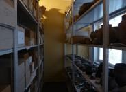 Blick ins Depot des alten Heimatmuseums, Foto: Carolin Vogel