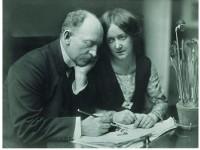 Emil Nolde und Ada, 1909, Foto: Nolde Stiftung Seebüll