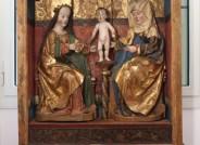Der Altarschrein nach der Restaurierung