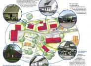 Lageplan mit Erläuterungen Königsberger Straße im Museum, Grafik: FLMK