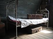 Leben in einer Notunterkunft - Nissenhütte im Freilichtmuseum am Kiekeberg, Foto: FLMK