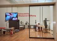 Blick in das Schauatelier Wüstenrot Stiftung der Staatsgalerie Stuttgart © Staatsgalerie Stuttgart