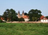 Kloster Bursfelde mit Klosterbezirksmauer Foto: Institut für Historische Landesforschung Göttingen