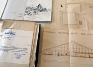 Pläne und Akten zu Schalenbauten aus den 1960er und 1970er Jahren, Foto: Müther-Archiv, Hochschule Wismar