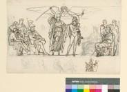 Martin von Wagner (1777-1858), Kompositionsskizze zu Homers Ilias, Credit: Martin von Wagner Museum der Universität Würzburg
