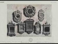 Acht Spiegelrahmen, Silbergelatineabzug auf Karton, um 1900, nicht identifizierter Fotograf, 18.3 x 25.4 cm (Foto), Geschenk Vannini-Parenti aus dem Nachlass Elia Volpi, Inv. Nr. 434988, Foto: Kunsthistorisches Institut in Florenz – Max-Planck-Institut