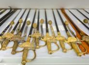 Galadegen für braunschweigische Beamte mit goldenen Portepees, Foto: Anja Pröhle