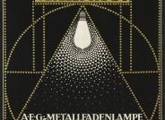 """Peter Behrens, """"Allgemeine Elektricitäts Gesellschaft/ A.E.G."""", Plakat, 1907; © Kunstmuseen Krefeld"""