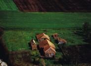 Luftaufnahme des Grundstücks aus den 1960er Jahren.