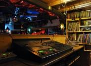 """DJ Kabine im """"Sonnenstein"""", Foto: Karl Heinz Ziessow"""