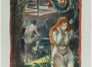 Ludwig von Hofmann Adam und Eva, 1897/1898 Lithographie