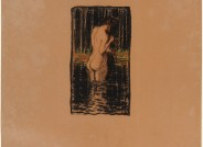 Ludwig von Hofmann Sommer Lithographie