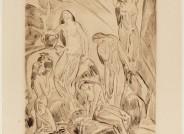 Ludwig von Hofmann, Badende Lithographie