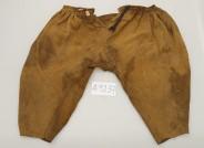 Hose eines spanischen Conquistadors, 16. Jh., Zustand vor Restaurierung