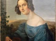 Louise Seidler, Ottilie Arnoldi, spätere von Wangenheim, 1832, Öl auf Leinwand, FDH, Inv.-Nr. IV-1951-011; Dokumentation der Firnisabnahme