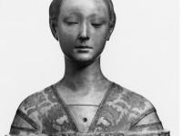 Francesco Laurana, Bildnis einer Prinzessin von Neapel, um 1470, Marmor (Foto: SMB-SBM, vor 1945).