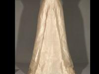Rückseite des Brautkleids, Foto: Carmen Markert