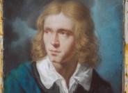 Unbekannter Künstler, Adelbert von Chamisso, um 1810–1815, Pastell, FDH, Inv.-Nr. IV-00468, Dokumentation des Vorzustandes (Foto David Hall)